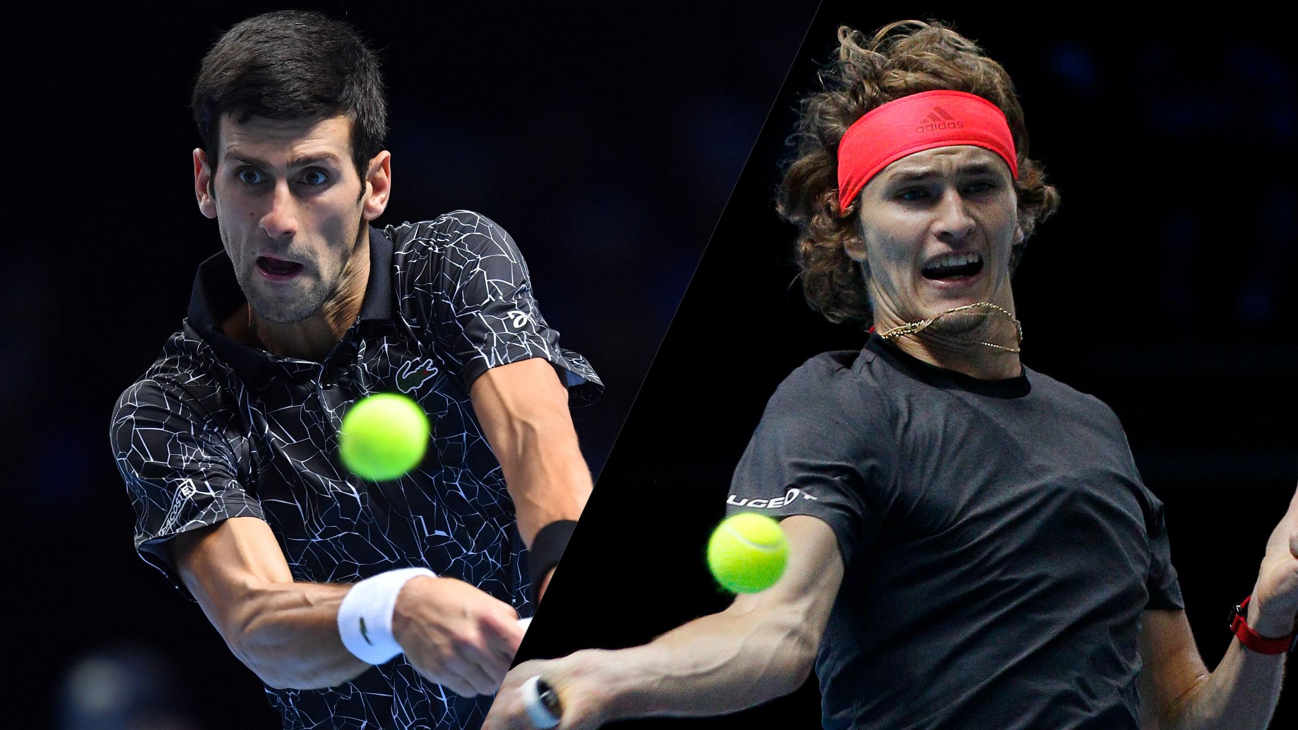 (1) Djokovic vs. (3) Zverev (Championship)