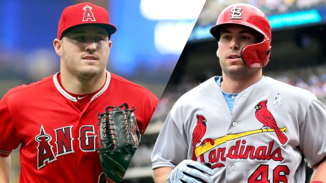 Los Angeles Angels of Anaheim vs. St. Louis Cardinals (re-air)