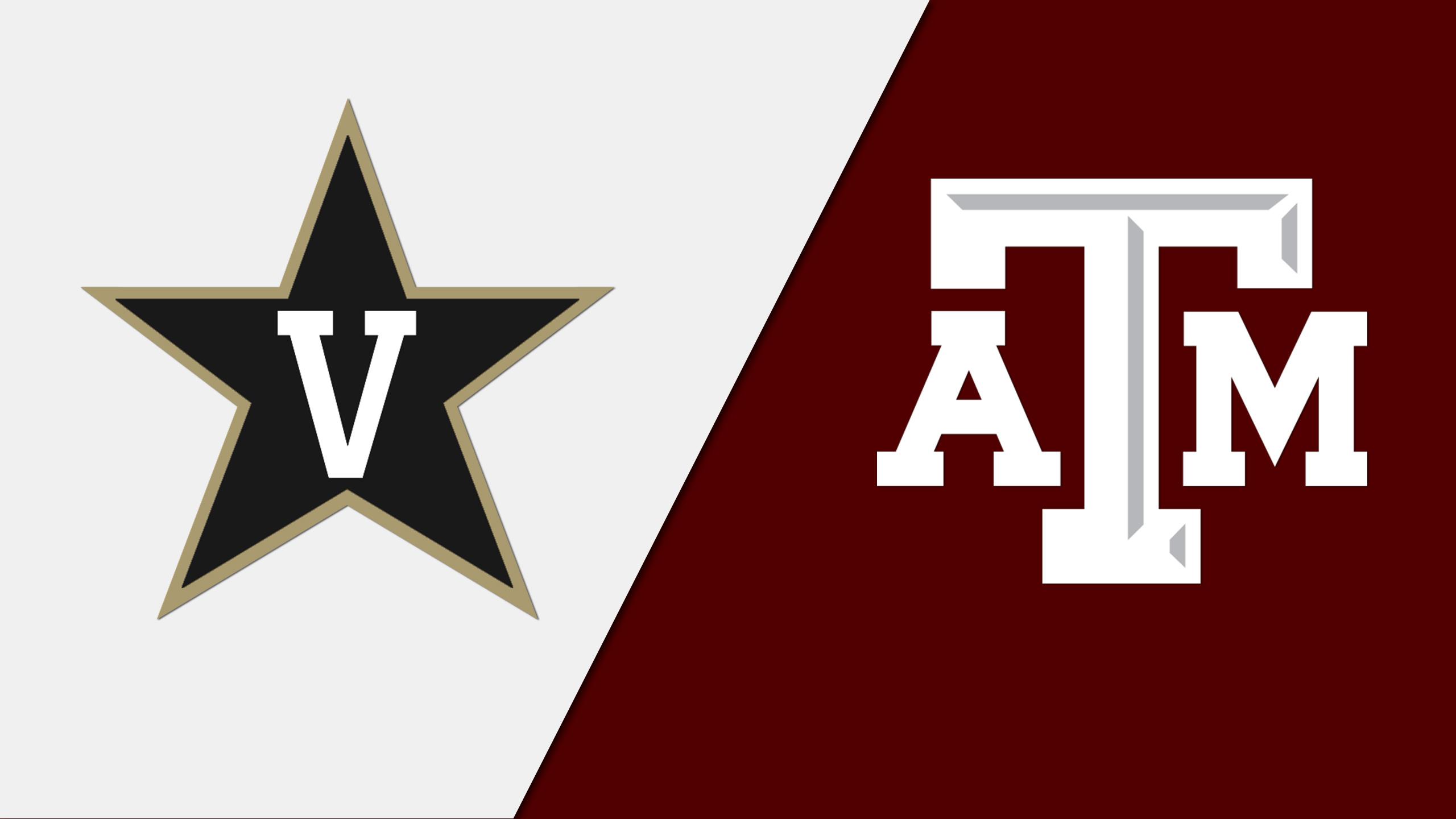 Vanderbilt vs. Texas A&M (First Round, Game 2) (SEC Men's Basketball Tournament)