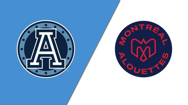 Toronto Argonauts vs. Montreal Alouettes (Canadian Football League)