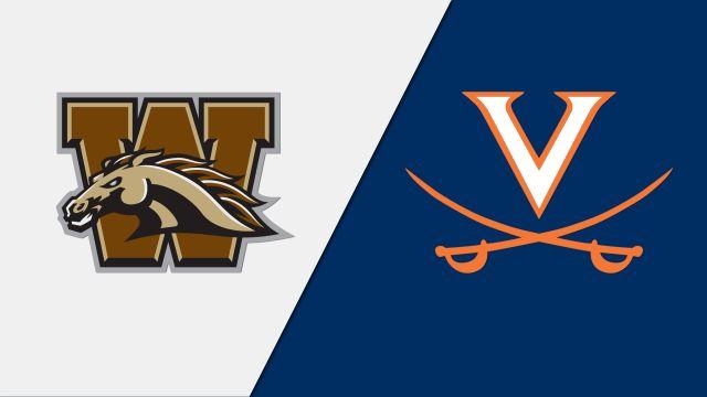 Western Michigan vs. #5 Virginia (M Soccer)