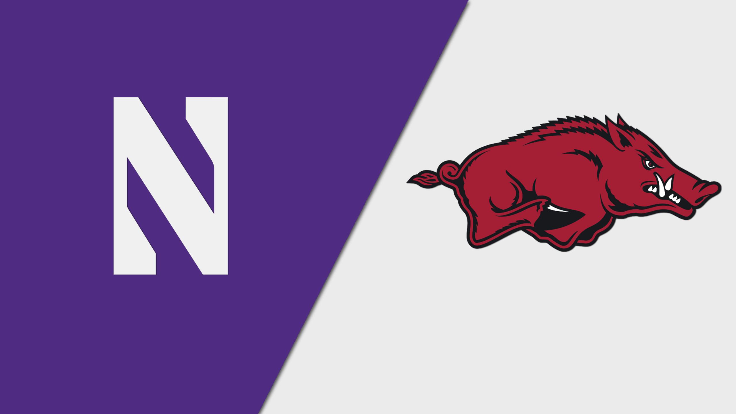 Northwestern vs. Arkansas (W Volleyball)