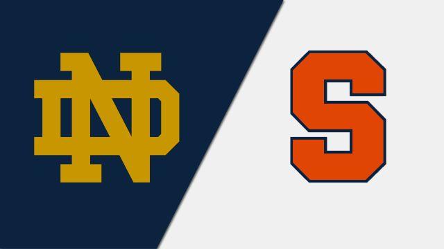 #8 Notre Dame vs. #4 Syracuse (W Lacrosse)