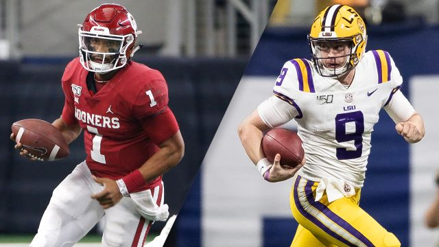 #4 Oklahoma vs. #1 LSU (College Football Playoff)