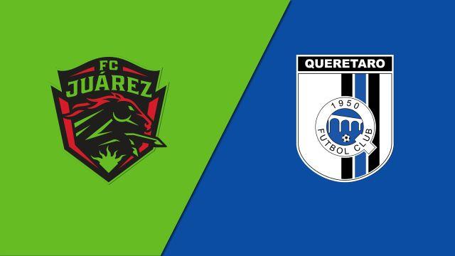 In Spanish-FC Juárez vs. Gallos Blancos de Querétaro (Octavos de final - Partido de vuelta) (Copa MX)
