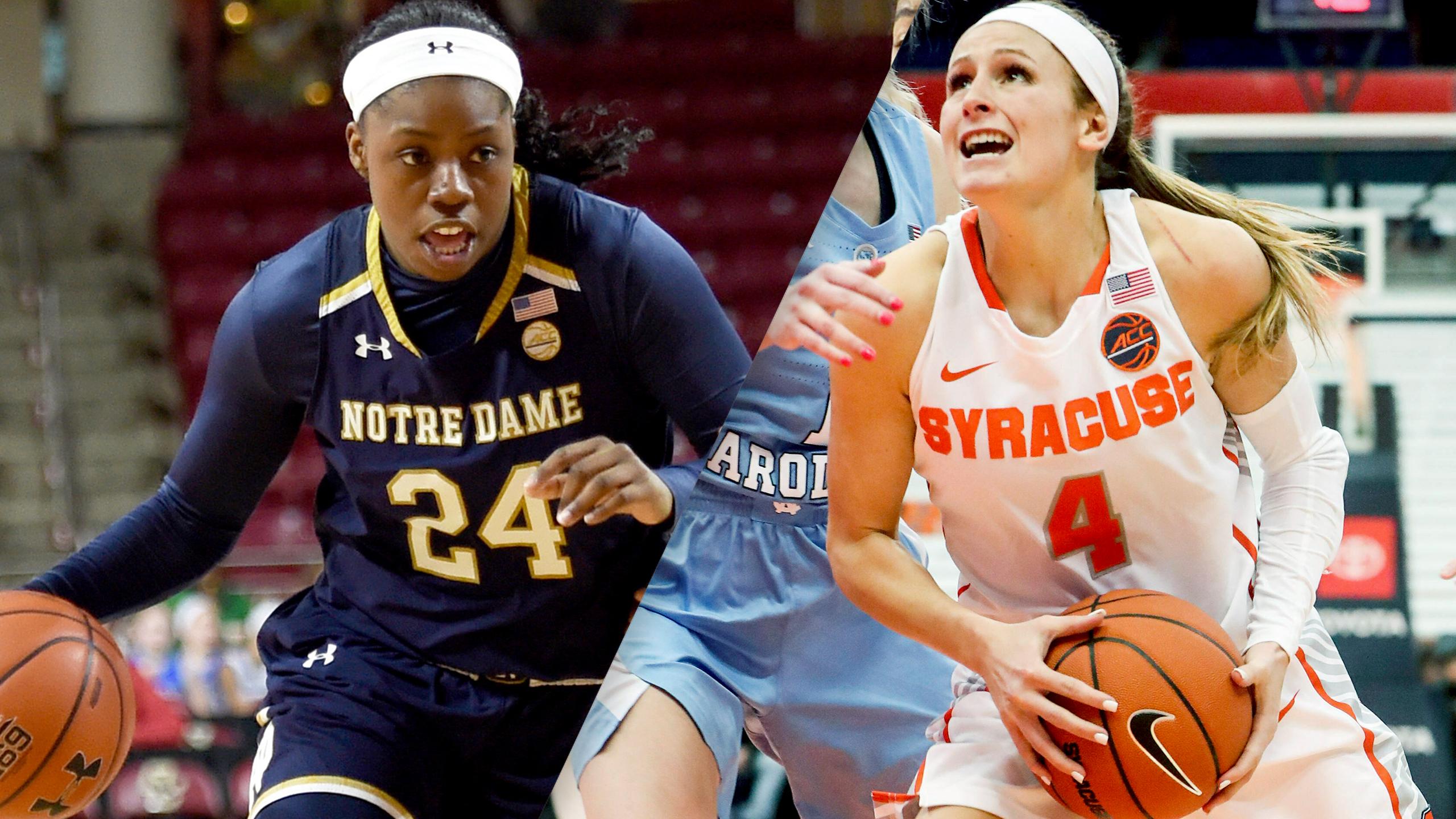 #5 Notre Dame vs. #18 Syracuse (W Basketball)