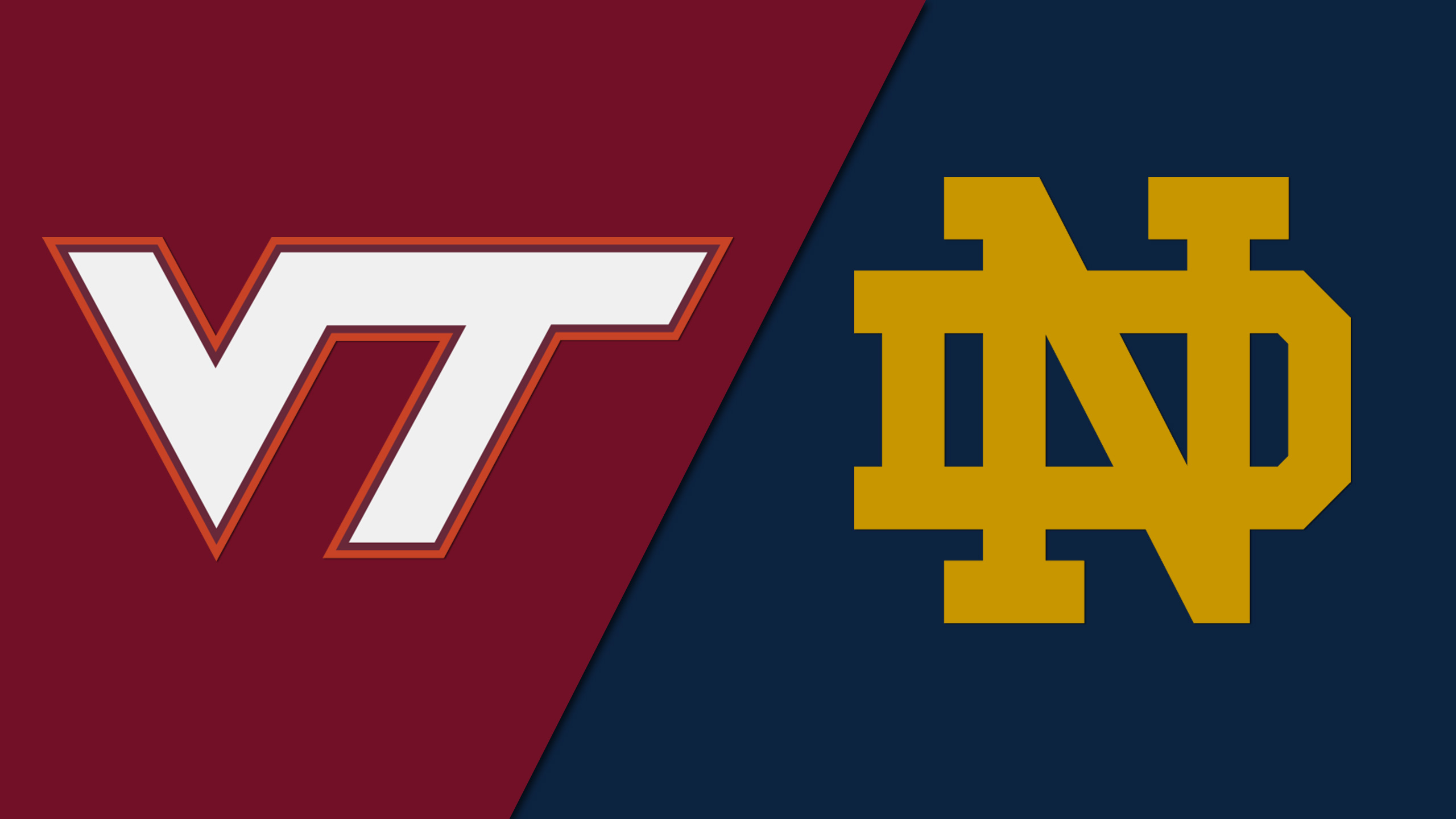 Virginia Tech vs. Notre Dame (W Volleyball)