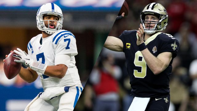 In Spanish-Indianapolis Colts vs. New Orleans Saints