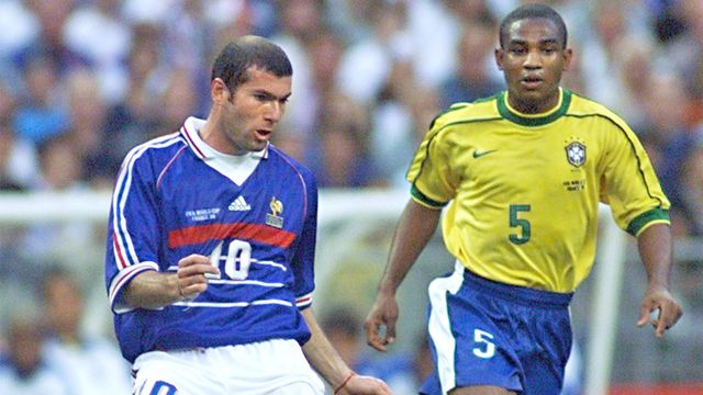 França x Brasil em 1998