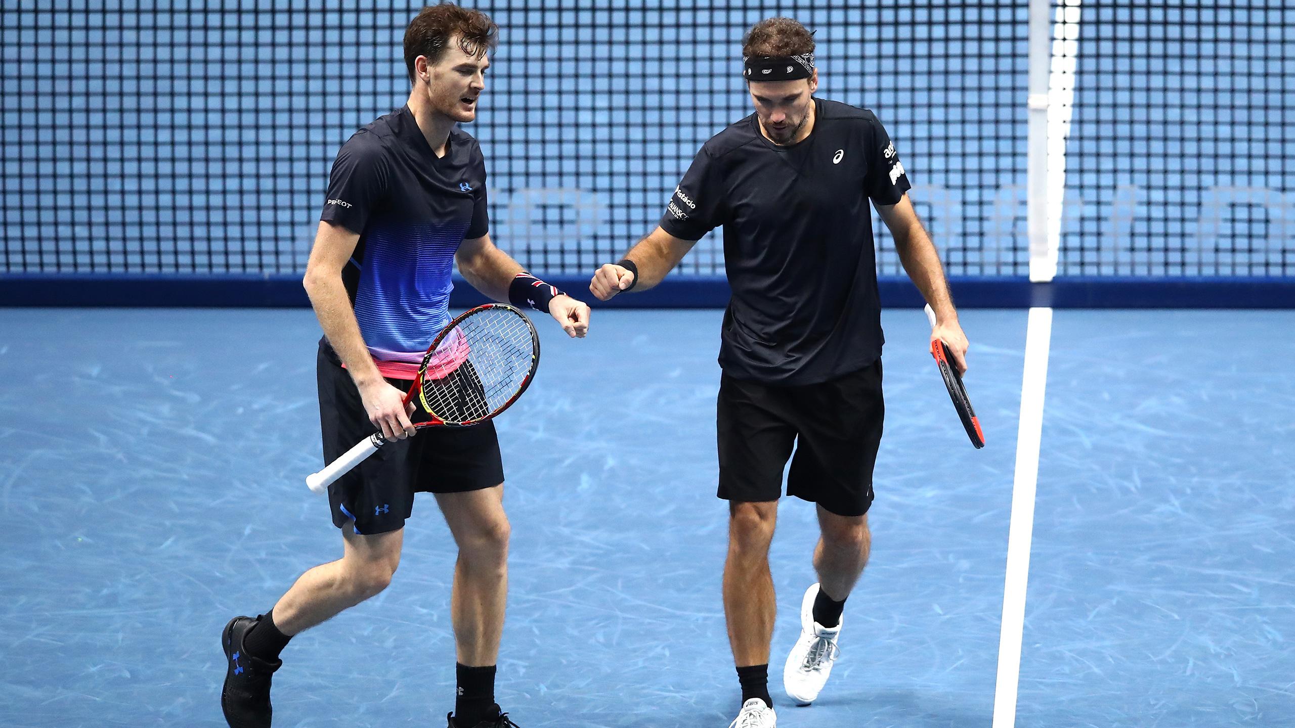 (4) Murray/Soares vs. (9) Kontinen/Peers (Doubles Round Robin)