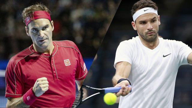 (3) Federer vs. (5) Thiem