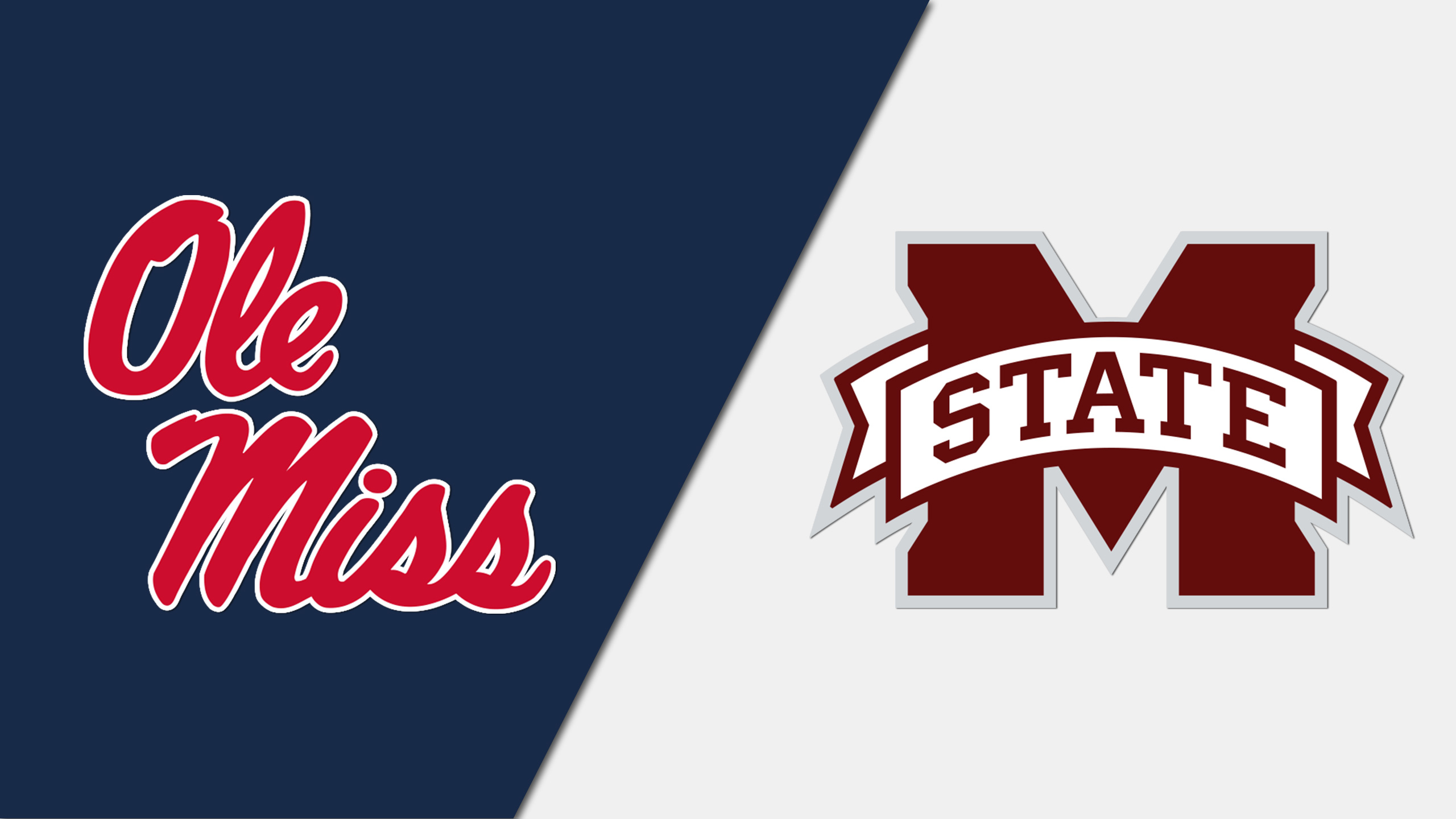Ole Miss vs. #14 Mississippi State (re-air)