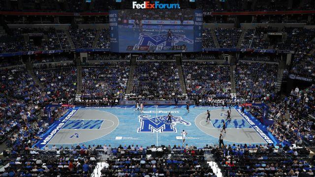 Above the Rim Cameras-Cincinnati vs. Memphis (M Basketball)