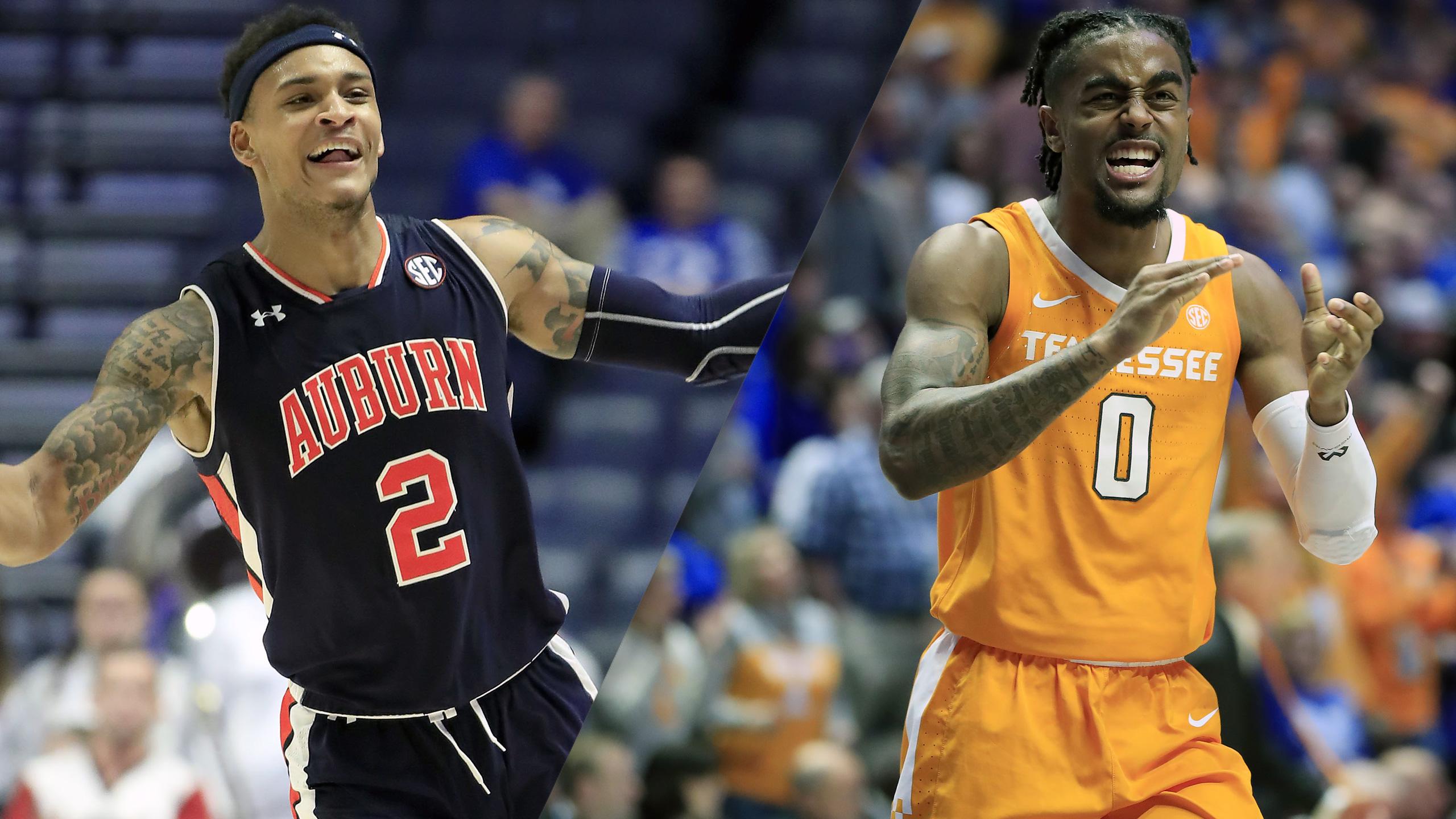 In Spanish - #22 Auburn vs. #8 Tennessee (Championship) (SEC Men's Basketball Tournament)