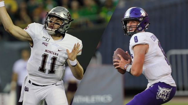 Fri, 12/13 - #6 Montana vs. #3 Weber State (Quarterfinal) (Football)