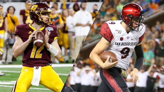 New Mexico Bowl: Central Michigan vs. San Diego State