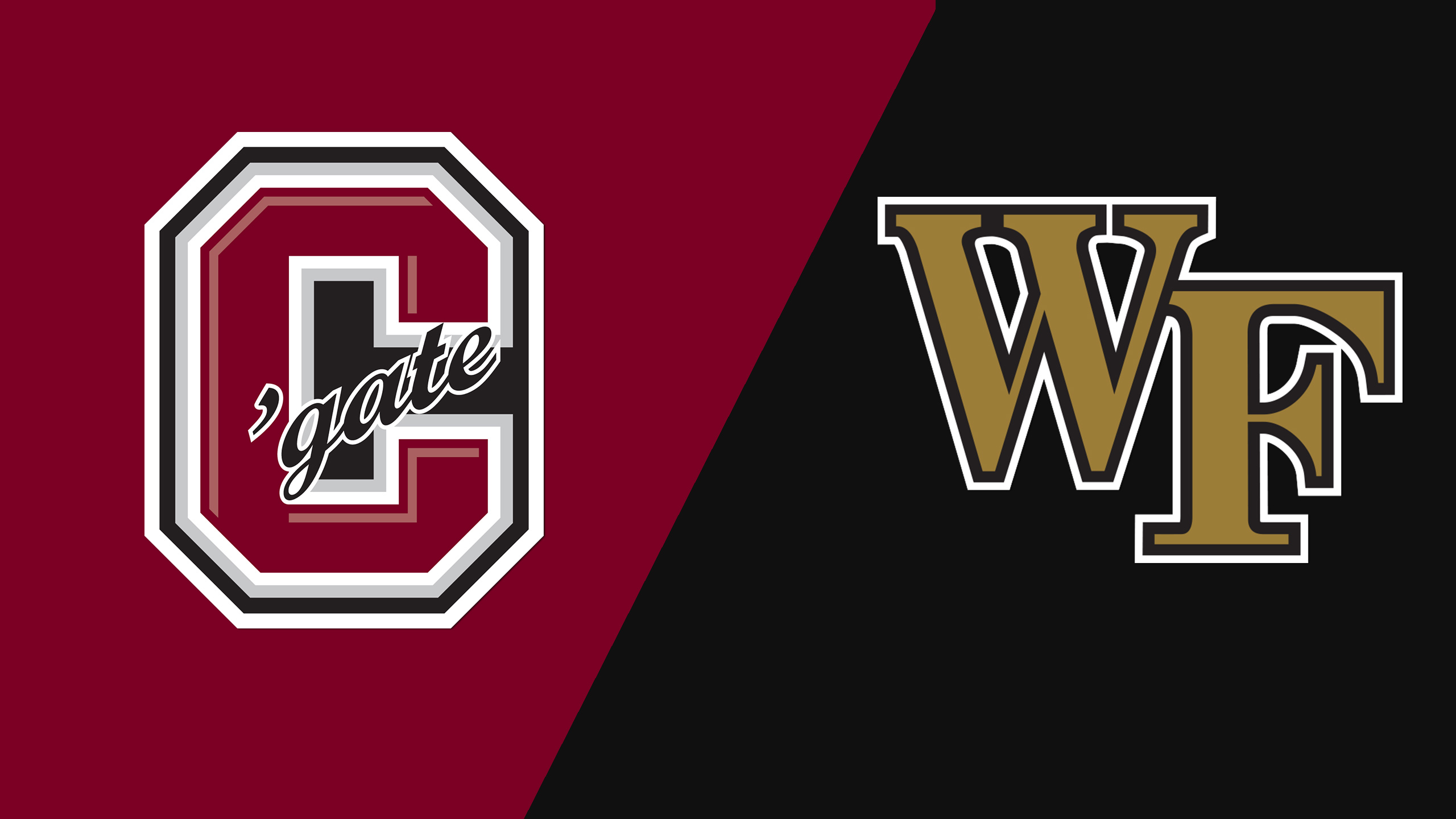 Colgate vs. #1 Wake Forest (Second Round) (NCAA Division I Men's Soccer Championship)