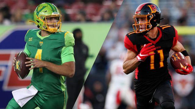 Seattle Dragons vs. Houston Roughnecks