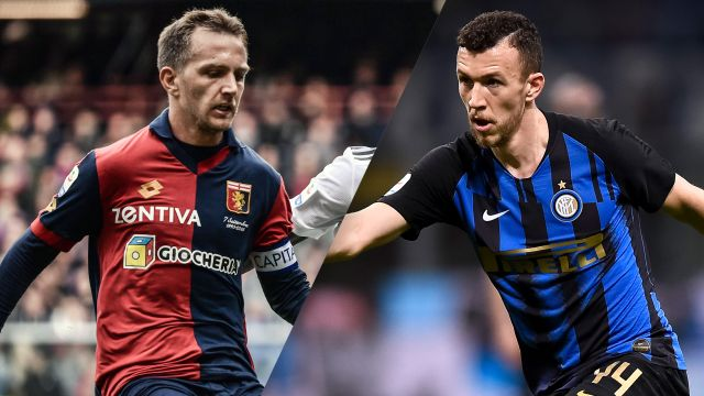 In Spanish-Genoa vs. Internazionale (Serie A)