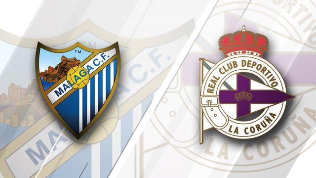 Malaga vs. Deportivo La Coruna