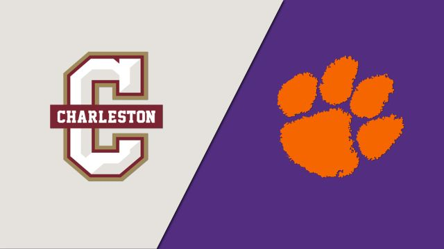 College of Charleston vs. #23 Clemson (Baseball)