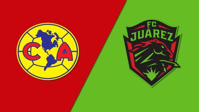 In Spanish-Águilas del América vs. FC Juárez (Octavos de Final) (Copa MX)