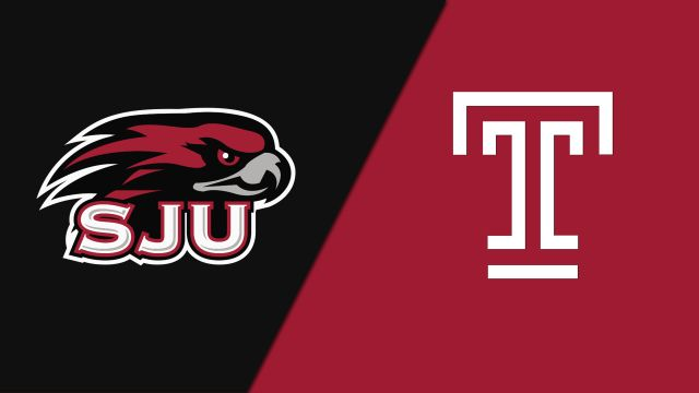 Saint Joseph's vs. Temple (M Basketball)