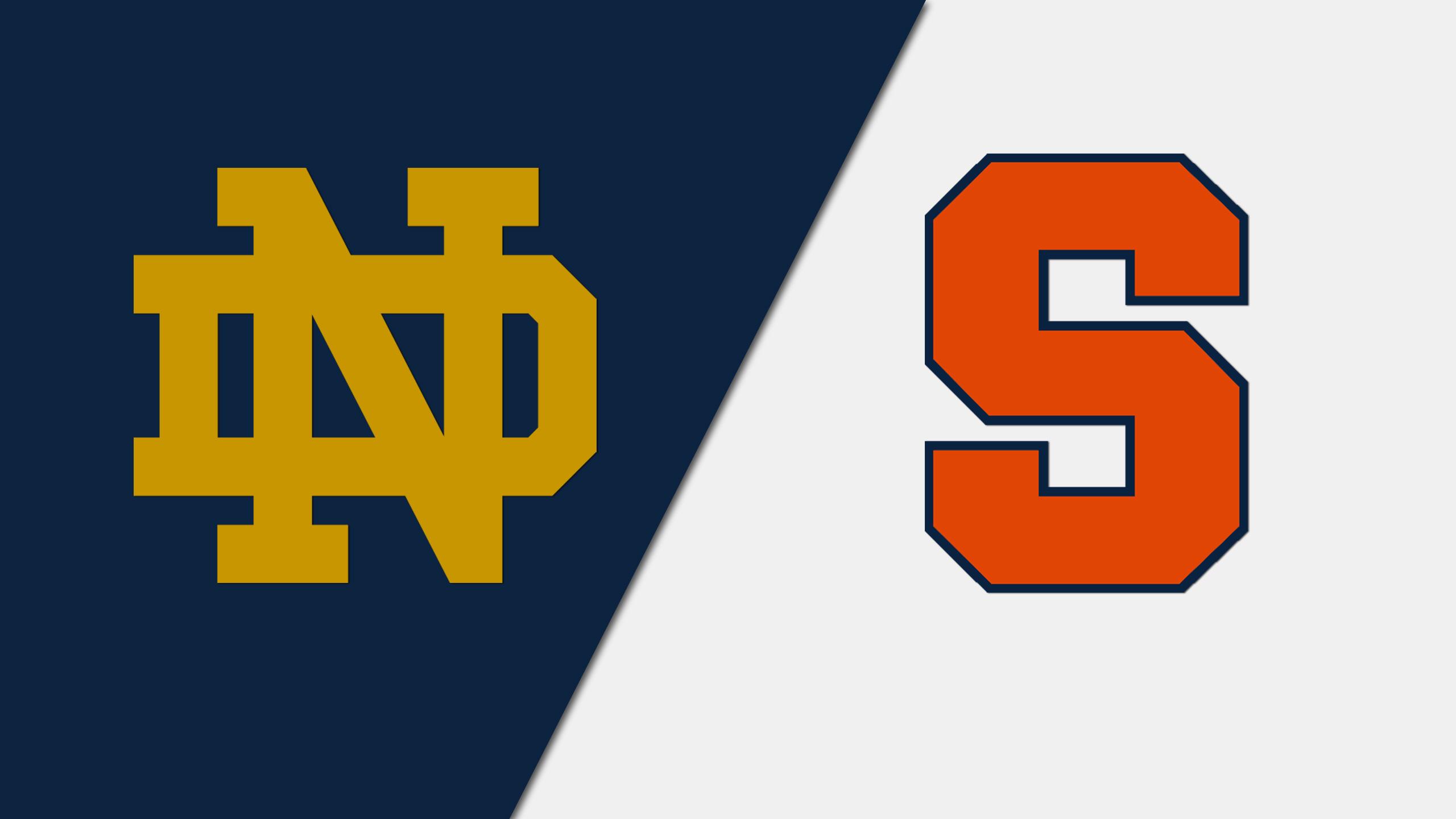 Notre Dame vs. Syracuse (W Soccer)