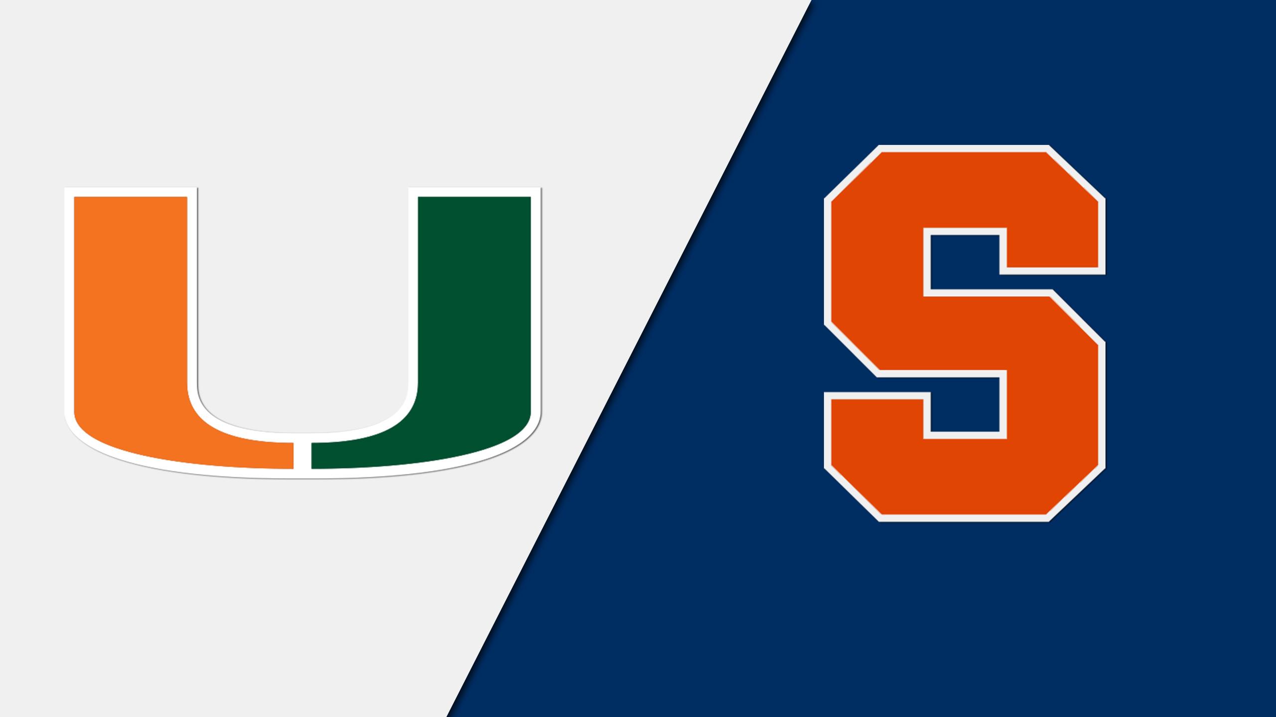 Miami vs. Syracuse (W Volleyball)