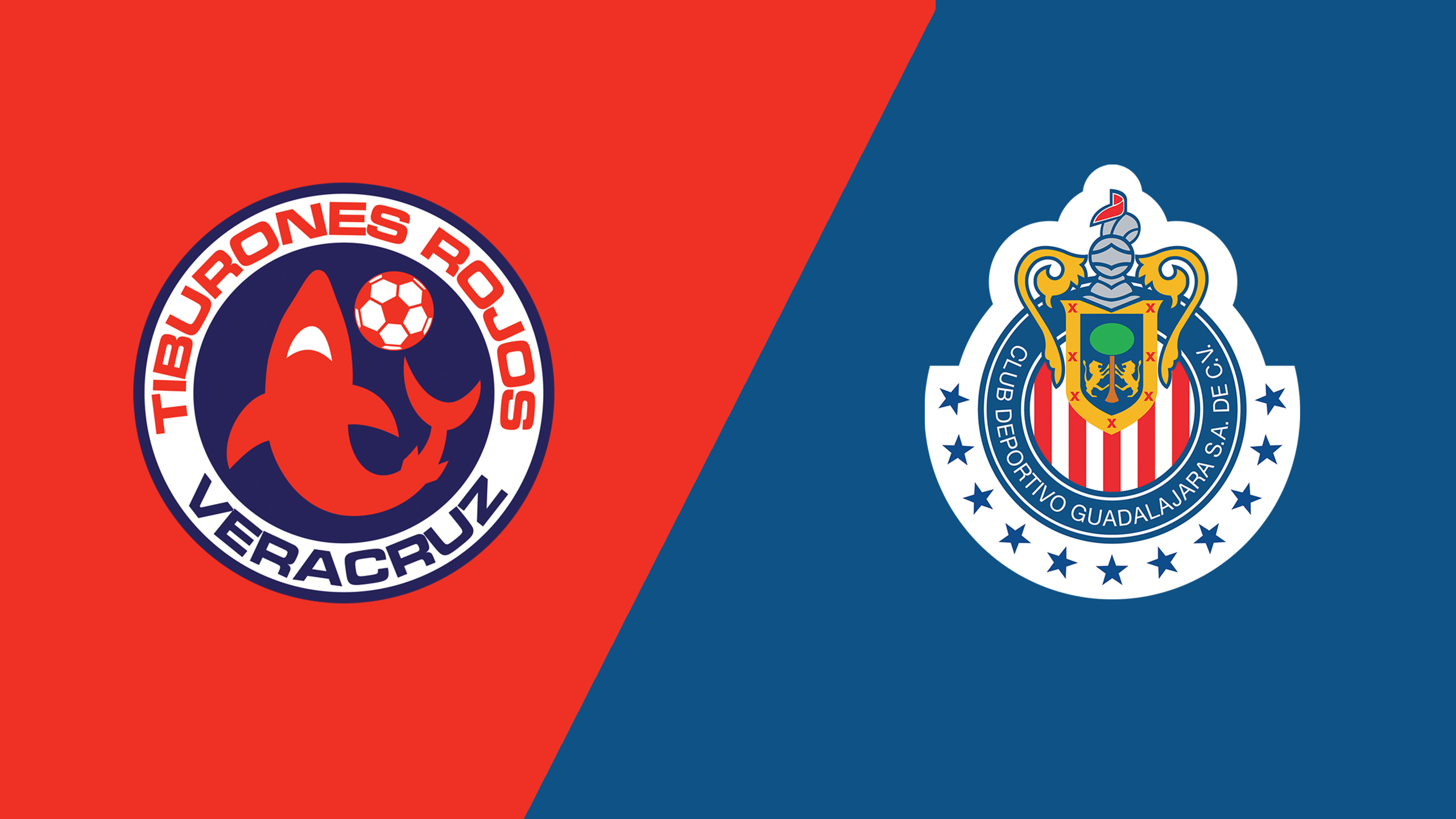 In Spanish - Tiburones Rojos de Veracruz vs. Chivas de Guadalajara (Jornada 5) (Liga MX)