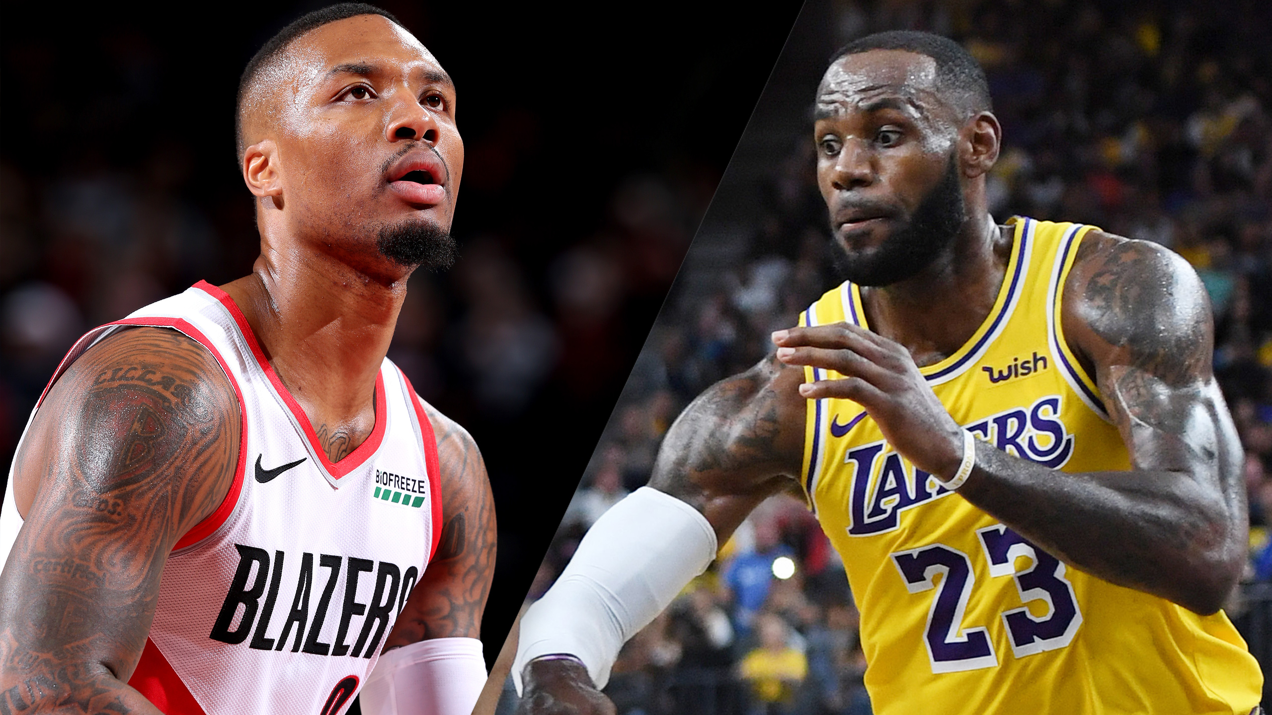 Portland Trail Blazers vs. Los Angeles Lakers (re-air)
