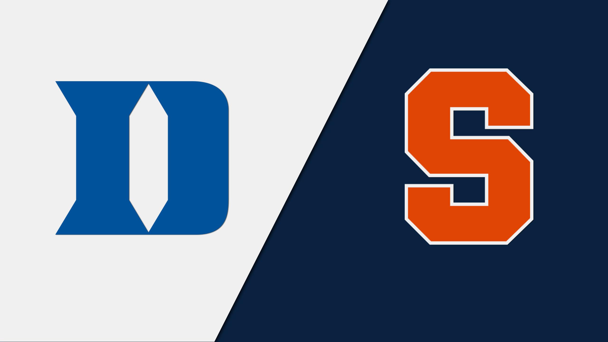 #2 Duke vs. #12 Syracuse (M Lacrosse)