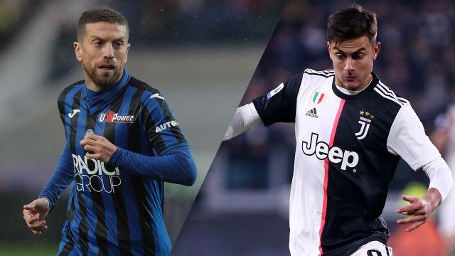 In Spanish-Atalanta vs. Juventus (Serie A)