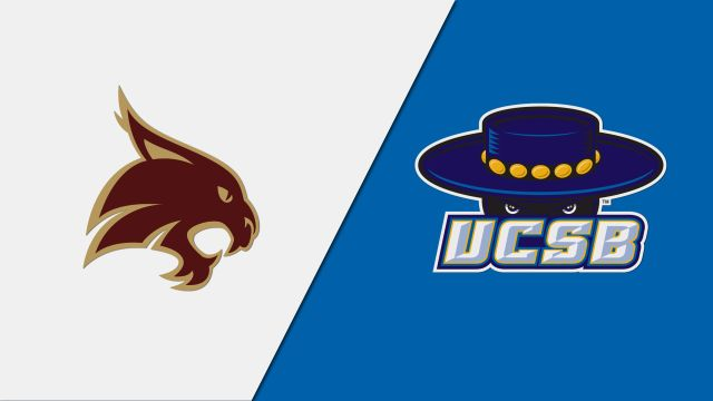 Texas State vs. UC Santa Barbara (First Round) (NCAA Women's Volleyball Tournament)