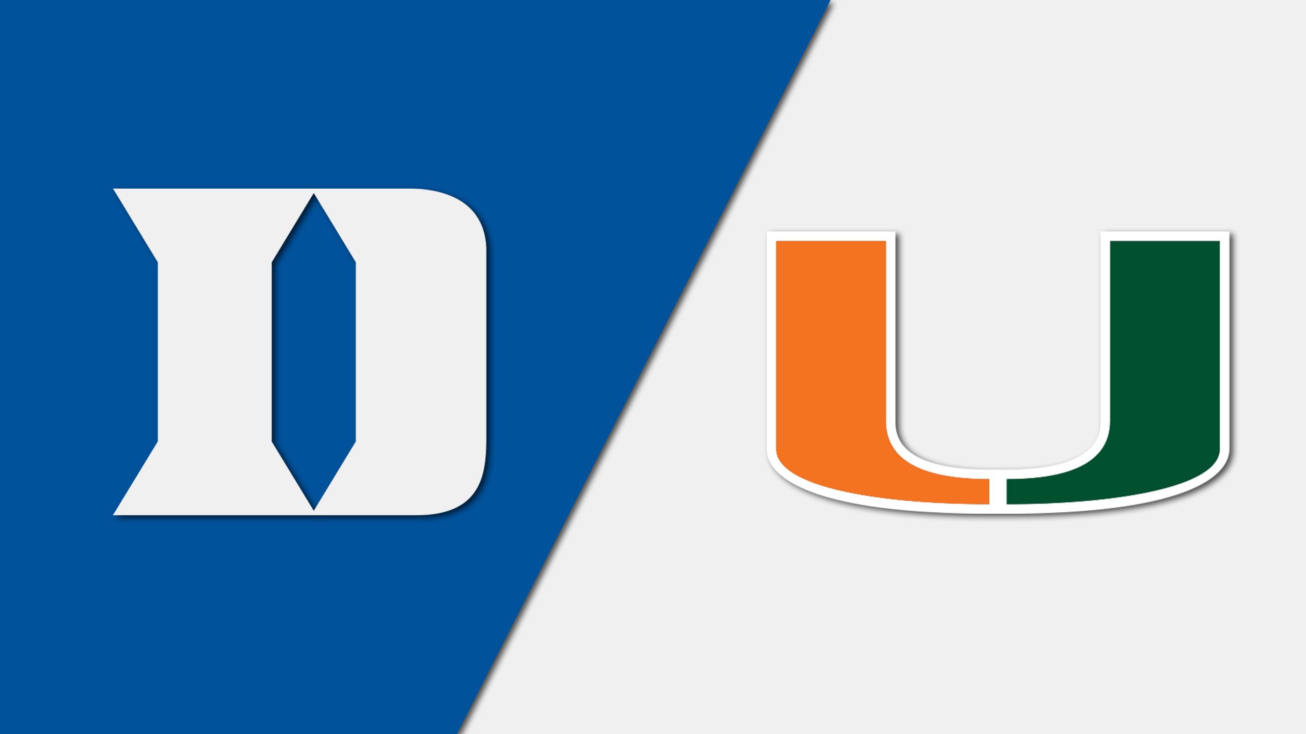 #12 Duke vs. Miami (W Soccer)