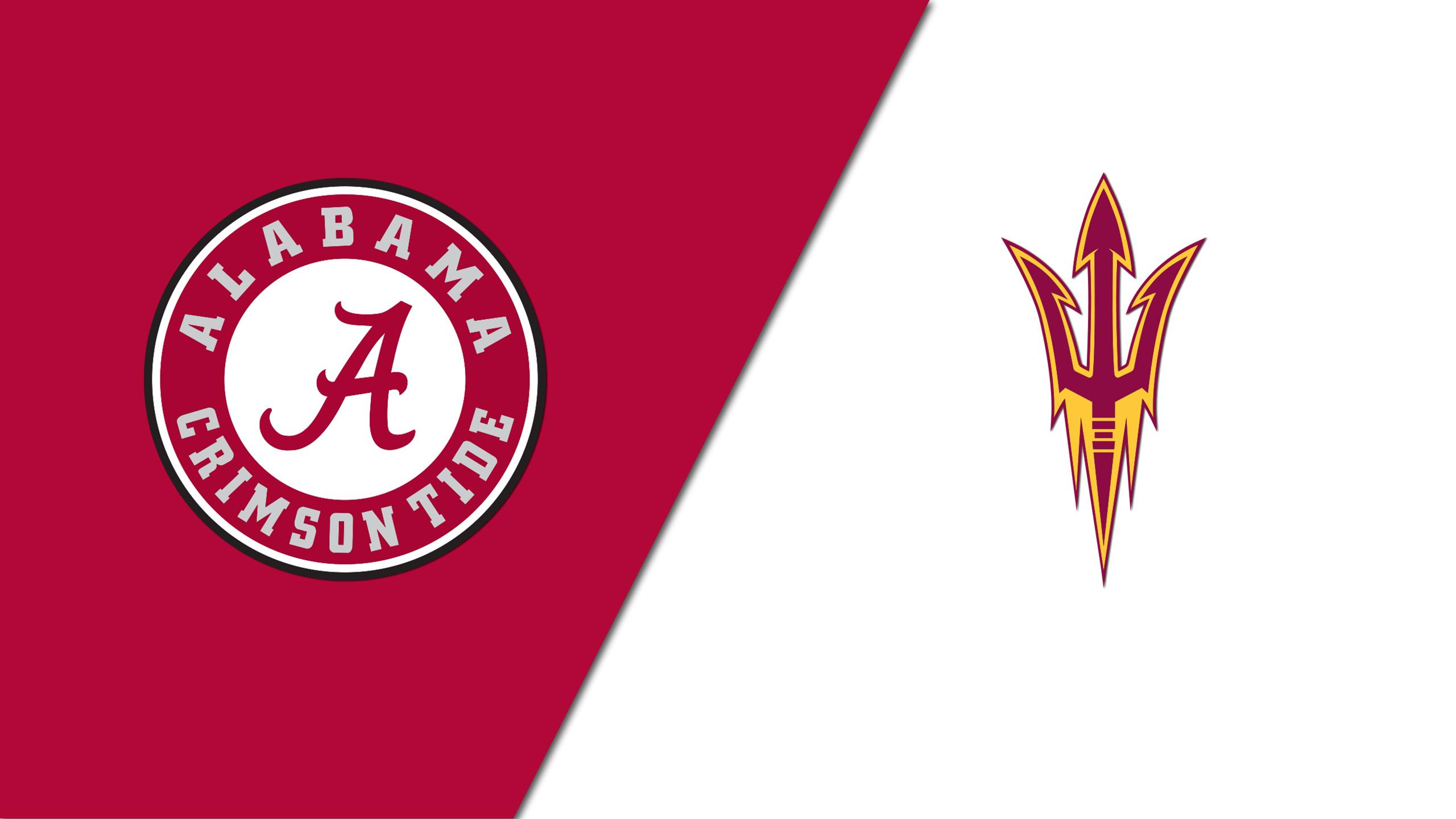 Alabama vs. Arizona State (Site 15 / Game 6)