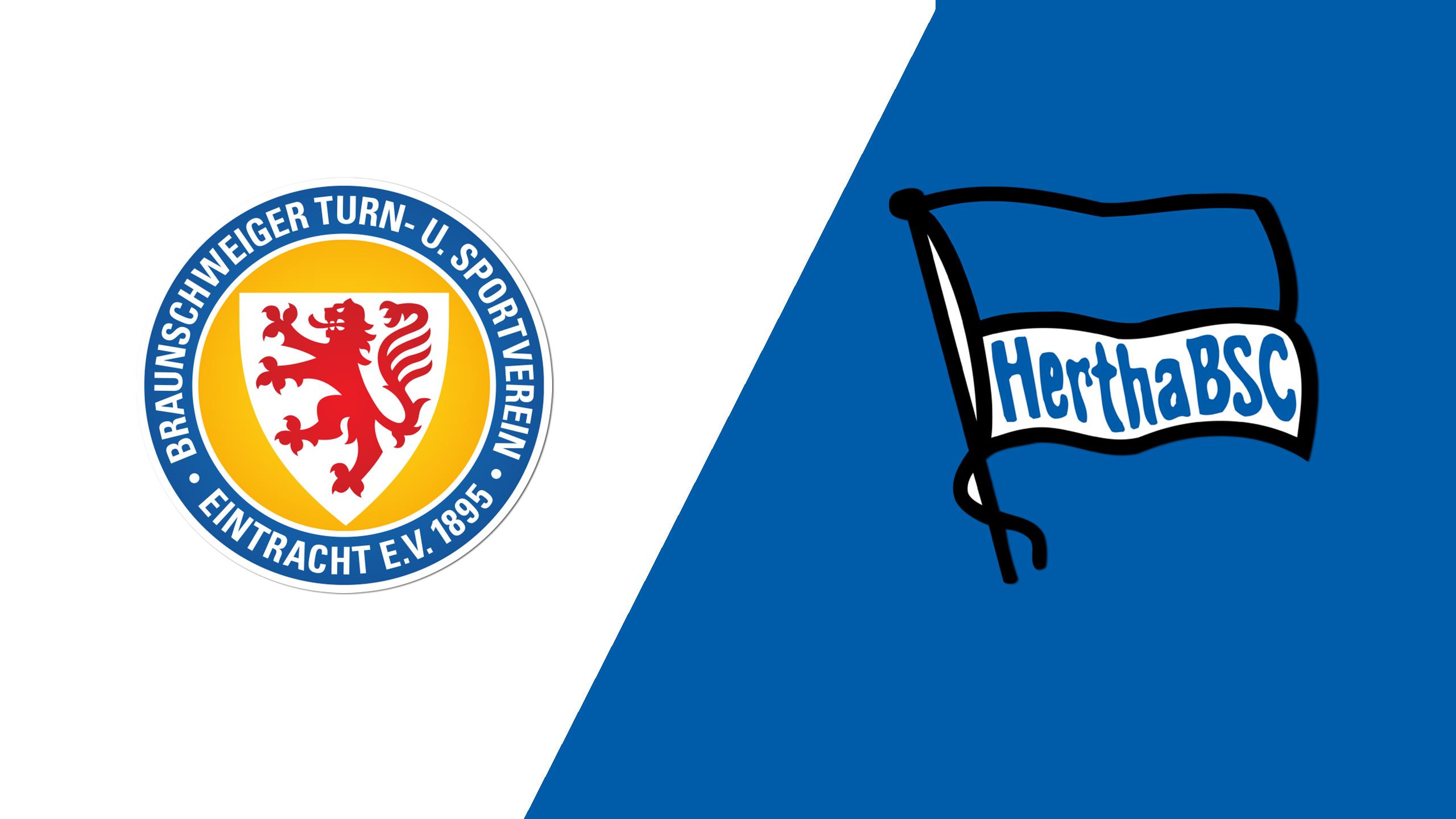 Eintracht Braunschweig vs. Hertha Berlin (Round 1) (German Cup)
