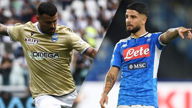 In Spanish-SPAL vs. Napoli (Serie A)