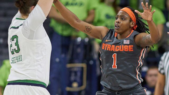 Albany vs. #20 Syracuse (W Basketball)