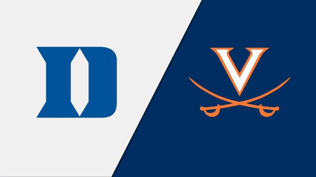 Duke Blue Devils vs. Virginia Cavaliers
