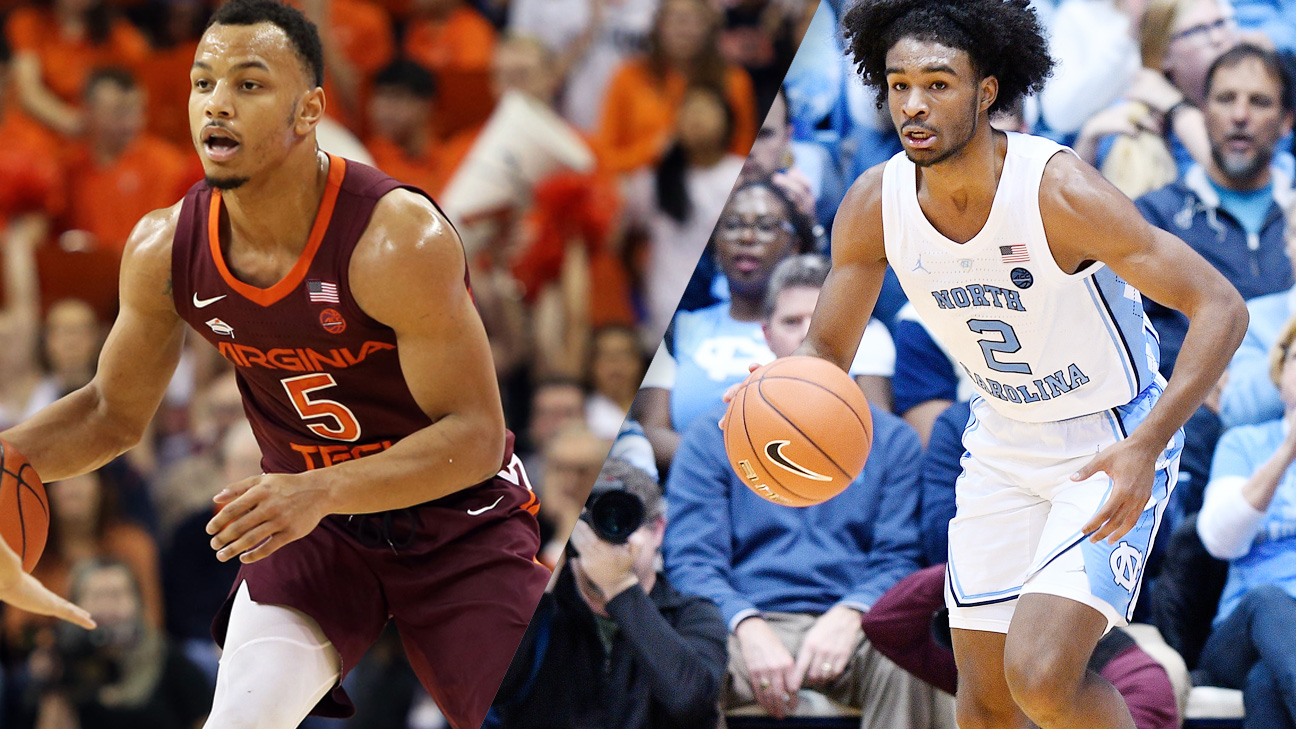 #10 Virginia Tech vs. #11 North Carolina (M Basketball) (re-air)