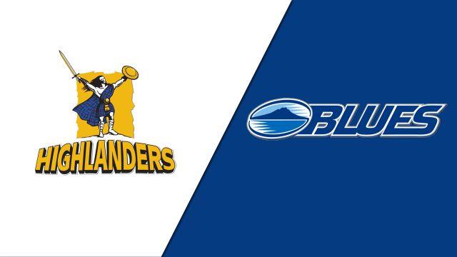 Highlanders vs. Blues