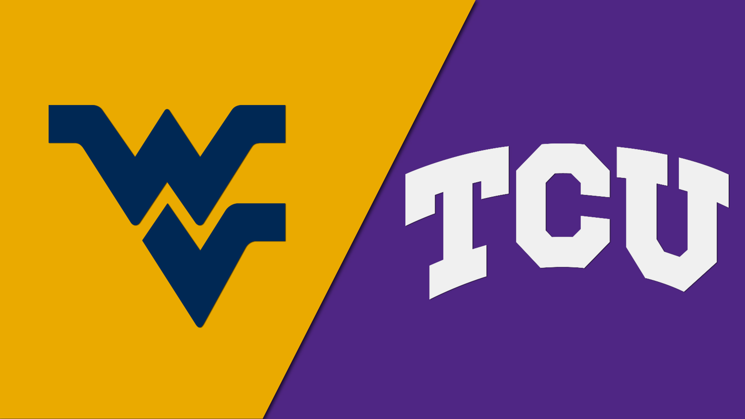 West Virginia vs. TCU (M Basketball) (re-air)