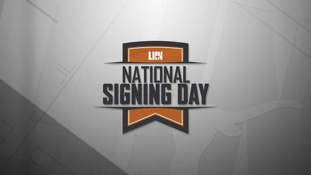 Texas Football National Signing Day
