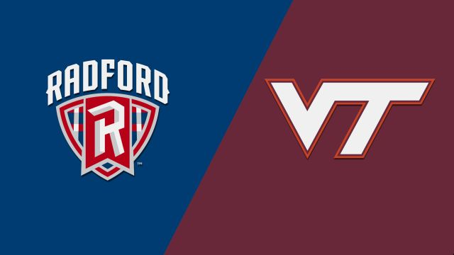 Radford vs. Virginia Tech (Baseball)