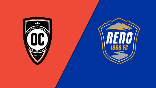Orange County SC vs. Reno 1868 FC (USL Championship)
