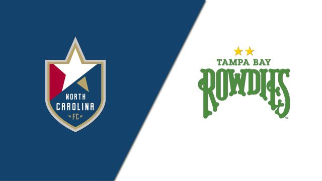 Wed, 8/21 - North Carolina FC vs. Tampa Bay Rowdies (USL Championship)
