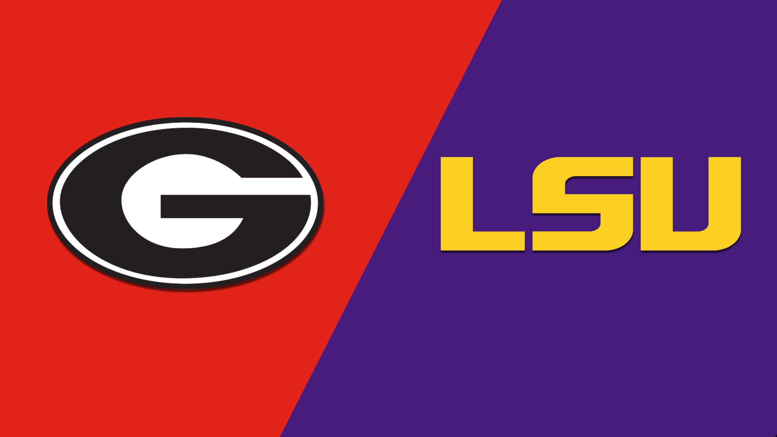 Georgia vs. #25 LSU (M Basketball) (re-air)