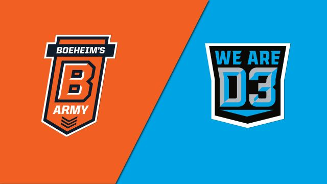 Boeheim's Army (Syracuse Alumni) vs. We Are D3 (Regional Round)