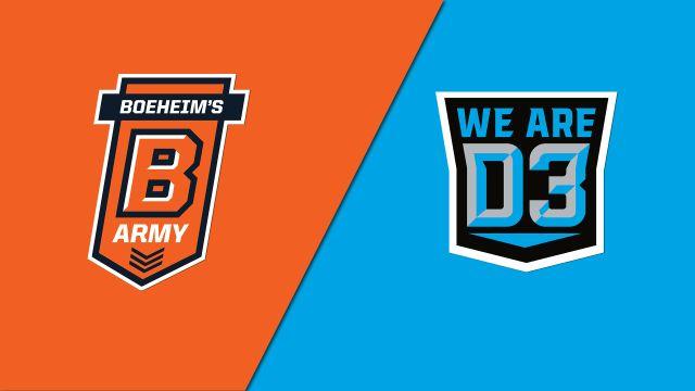 Boeheim's Army (Syracuse Alumni) vs. We Are D3 (Regional Round)